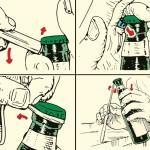 9 Spôsobou ako otvoriť fľašu 9-Ways-Open-a-Bottle