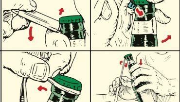 9 Spôsobov ako Otvoriť Fľašu bez Otváraku