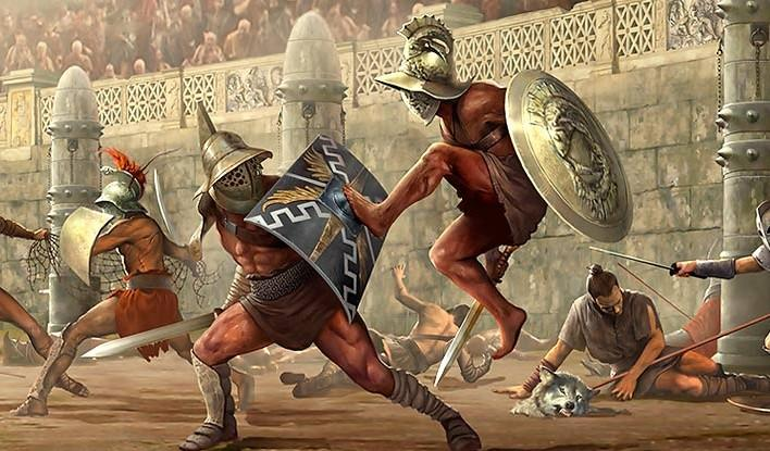 Rímski Gladiátori Jedli Vegetariánsku Stravu a Pili Nápoj z Popola