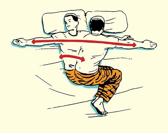 Vstávajte ako Zviera - Váš Ranný Strečingový Rituál, strečing, muž, rituál, cvičenie, oddych, www.pravymuz.sk, zdravie a šport, Strečing na boku