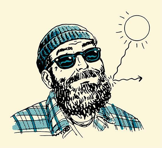 5 Spôsobov ako Vám Brada Pomôže Prekonať Zimu, brada, muž, pánsky magazín, www.pravymuz.sk, pravý muž,