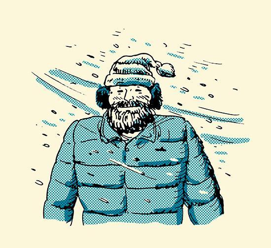 5 Spôsobov ako Vám Brada Pomôže Prekonať Zimu, brada, muž, pánsky magazín, www.pravymuz.sk, pravý muž, odolnosť proti vetru