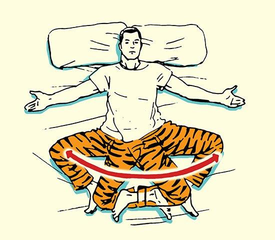 Vstávajte ako Zviera - Váš Ranný Strečingový Rituál, strečing, muž, rituál, cvičenie, oddych, www.pravymuz.sk, zdravie a šport, Strečing Strečing bokmi