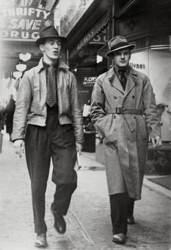 1930-1939-basic-mens-wardrob, história Pánskej módy, 100 rokov pánskej módy, pravý muž, oblek, sako, vintage, 30 roky