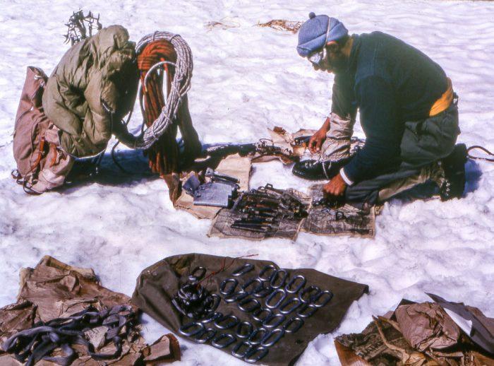 Základné vybavenie horolezcov