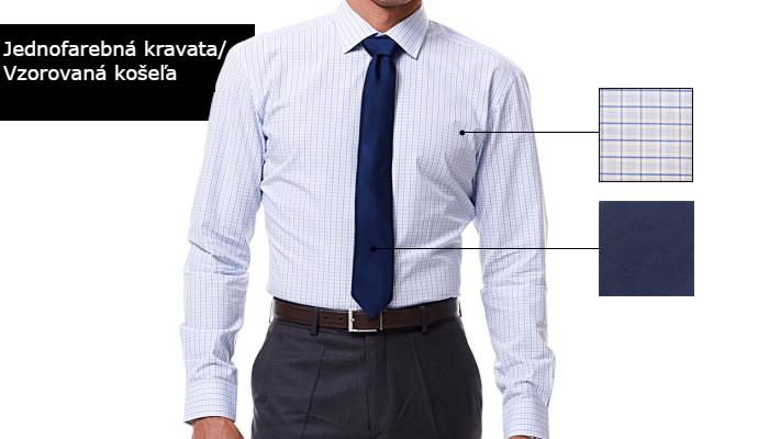 ako kombinovať kravatu