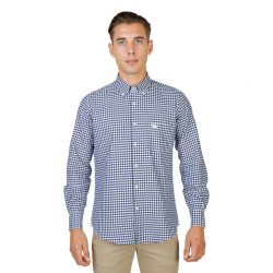 Luxusná Pánska Košeľa Oxford University - Button Down Navy 1