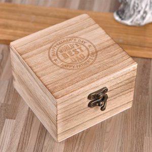 Gravírovanie Na drevenú darčekovú krabičku 02