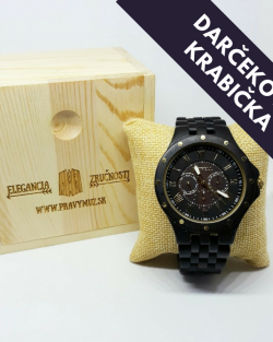 Darčeková Krabička na drevene hodinky