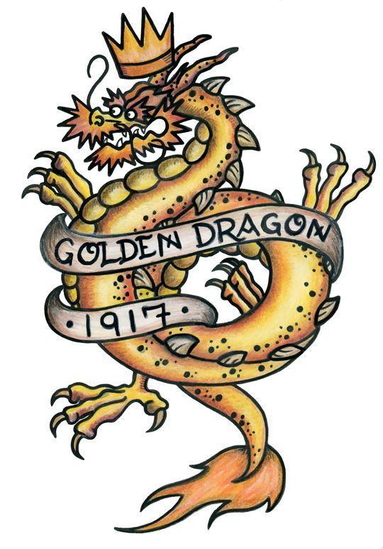 Námornícke Tetovanie drak
