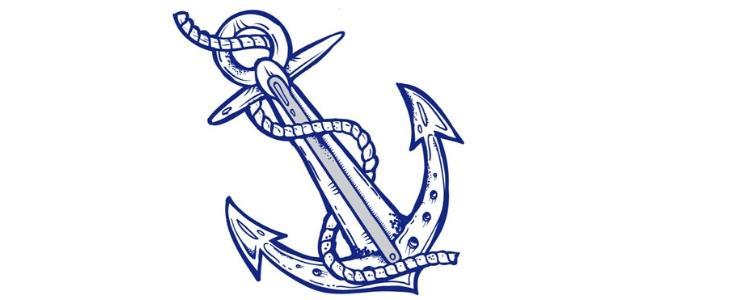 Námornícke Tetovanie kotva