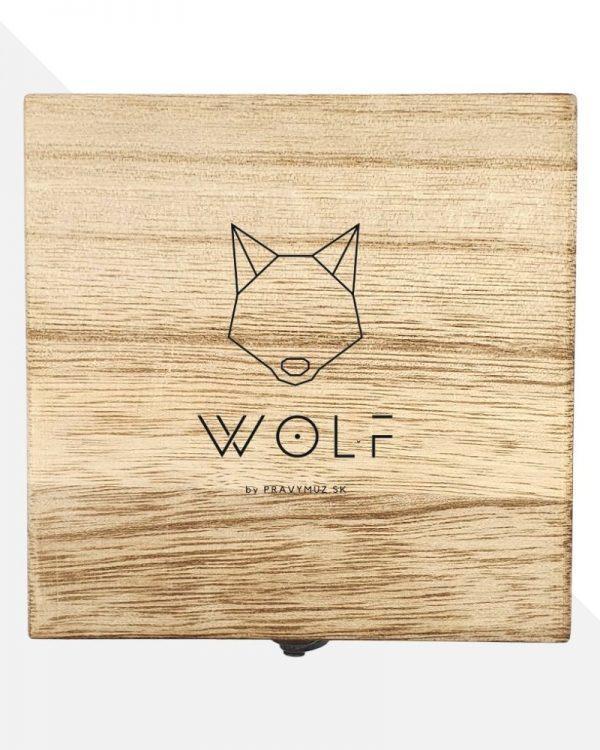 Wolf Drevená Darčeková Krabička