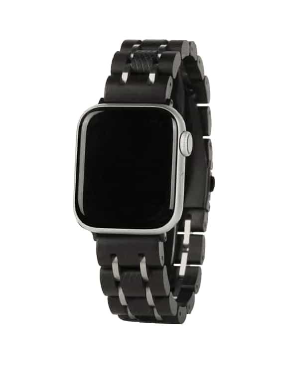 Apple Watch Band -Ebenové Drevo01
