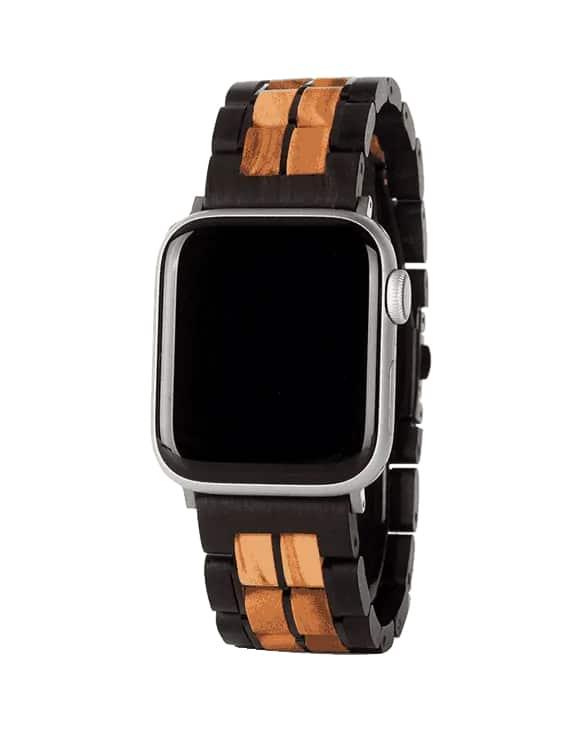 Apple Watch Band – Javorové a Ebenové Drevo06