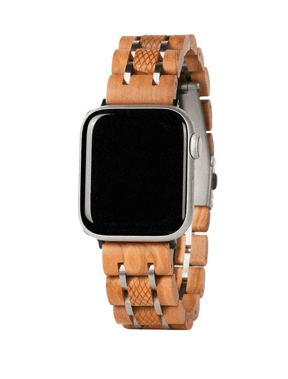 Apple Watch Band – Olivové Drevo01